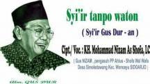 Syiir Tanpo Waton Gusdur Versi Jawa