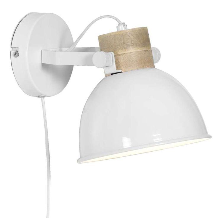 Wandlamp Jorg - wit | Leen Bakker