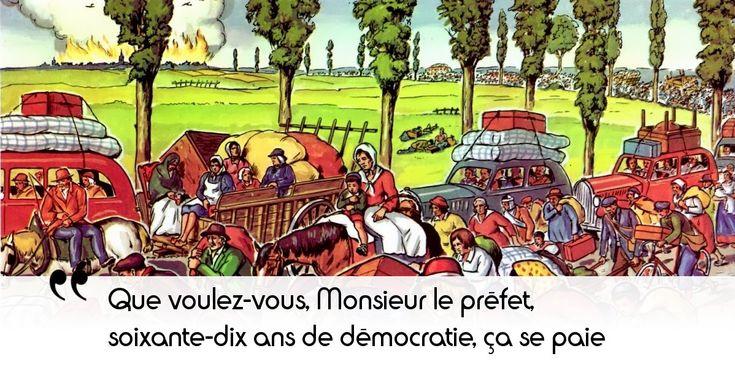 On sent que la défaite de la France a presque un goût de victoire pour Maurras, qui a soutenu Mussolini...