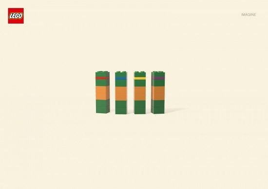 LOVE these Lego ads. Check out the whole series. via fubiz
