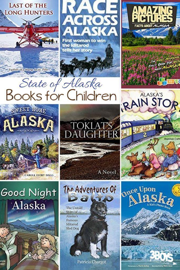 Alaska State Books for Kids #kbnmoms #reading #hsbloggers https://3boysandadog.com/alaska-state-books-for-kids/?utm_campaign=coschedule&utm_source=pinterest&utm_medium=3%20Boys%20and%20a%20Dog&utm_content=Alaska%20State%20Books%20for%20Kids