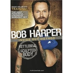 Bob Harpers 'Kettlebell Sculpted Body' workout dvd. CHRIST ON A BIKE - this is the toughest home workout I've ever done. Has a 20 min beginners workout for those not used to kettlebells or strength training. The hour workout? Super-effective & challenging for men & women alike. I only just completed it & I could feel I'd worked pretty much every muscle group the next day... and the next! This is now a staple workout for me - try it and probably get nicely ripped.