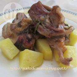 Foto della ricetta: Agnello al forno con patate