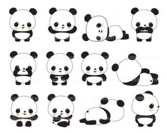 Chinese Food clipart baby panda #510
