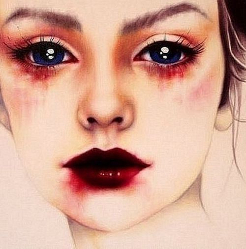 Some type of makeup idea, although we already have some great ones I'll post more anyway