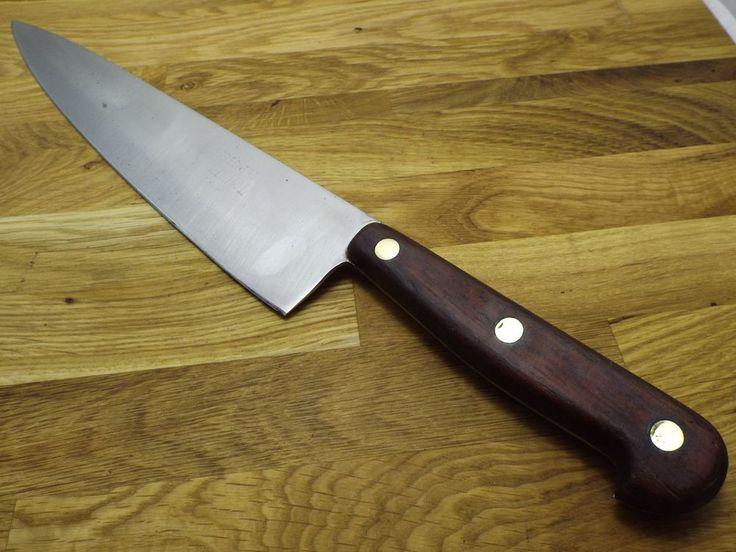 "vintage Sprechercut France 10"" Stainless Blade RAZOR SHARP French Chef Knife"