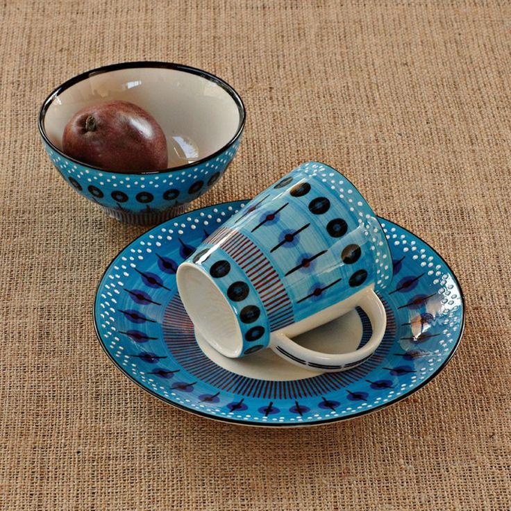 Potter's Workshop Dinnerware - Blue