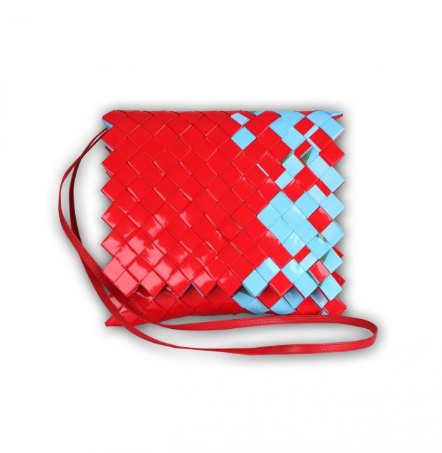 bag made from – yes – candy wrappers!