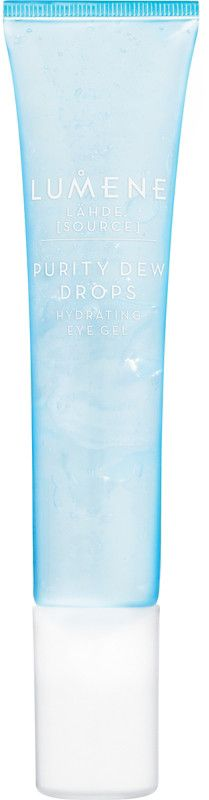 Unlock the sensation of deep hydration. Nature provides, and seeing is believing with Lumene's wonderful lightweight Lahde Purity Dew Drops Hydrating Eye Gel. Provitamin B5 cares for this delicate area while natural Birch Sap and pure ArcticSpring Water gently hydrate, giving you instantly healthier, more awake-looking skin. These native ingredients are set into action by our advanced hydra-technology for continuous hydration throughout the day. This fragrance-free formula works to reduce…