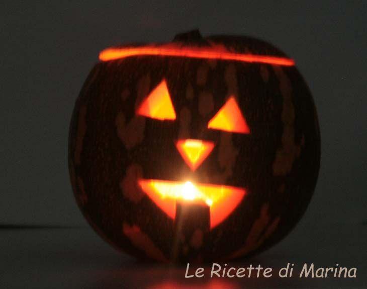 Jack o'Lantern - la zucca, ricetta di Halloween