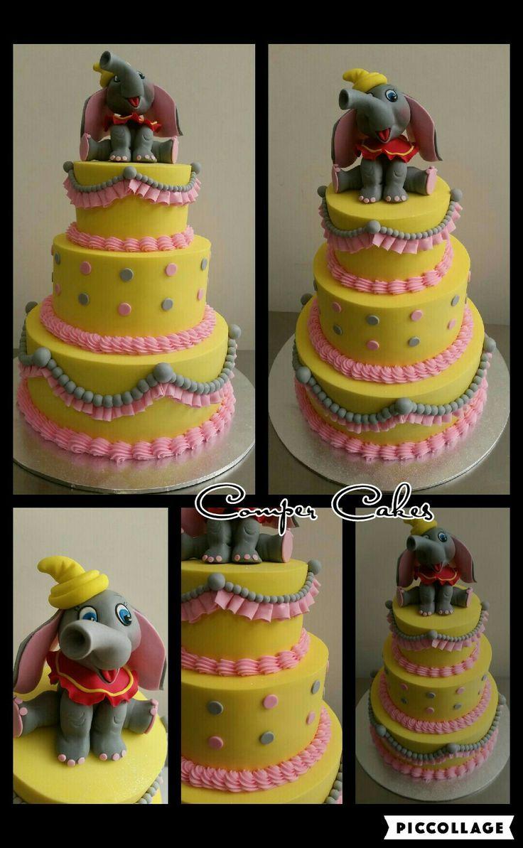 Elephant Dumbo Cake