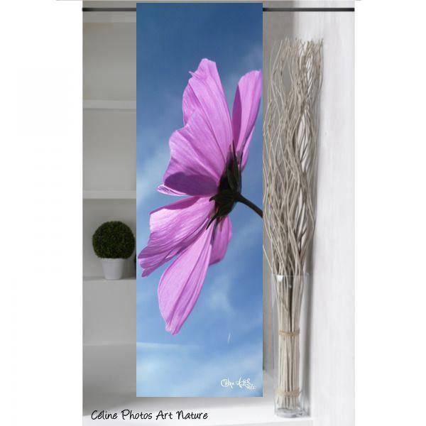 """Panneau japonais 1m50x50cm """" Le ciel et le cosmos """" de Céline Photos Art Nature : Textiles et tapis par celinephotosartnature"""