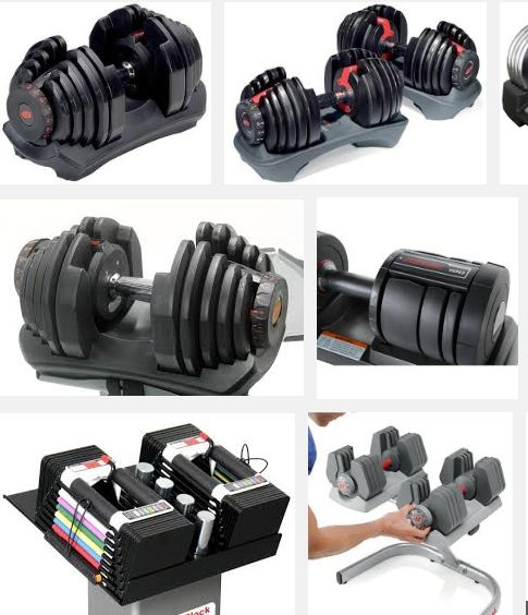 Best 6 Adjustable Dumbbells Reviews & Comparison (2015) -  #equipment #workout