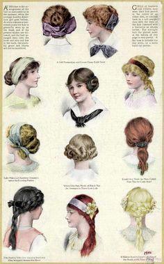 Edwardian hairstyles for teenage girls