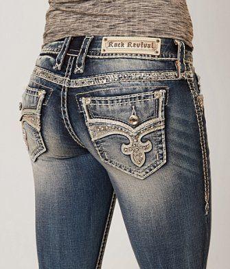 Rock Revival Yui Boot Stretch Jean - Women's Jeans   Buckle