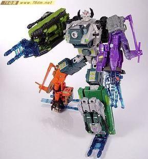 the u.s. version of transformers energon super link e version of battle fleet combined bruticus flying spot #transformer