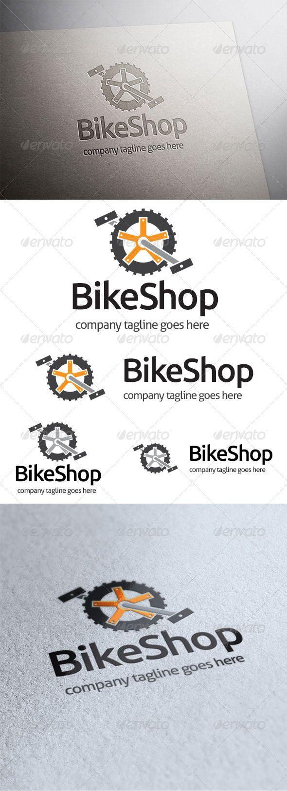 84 best a bike logo templates images on pinterest font logo bike shop biocorpaavc Images