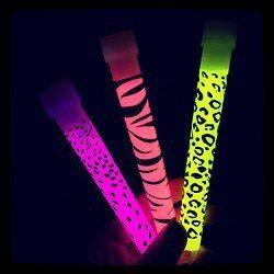 Draw on your glow sticks with Sharpie™!!