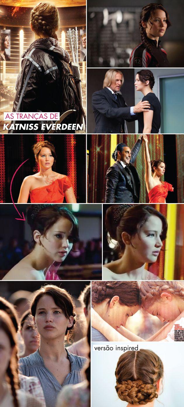 Hunger Games :: Os cabelos de Katniss Everdeen e as unhas de Effie Trinket!
