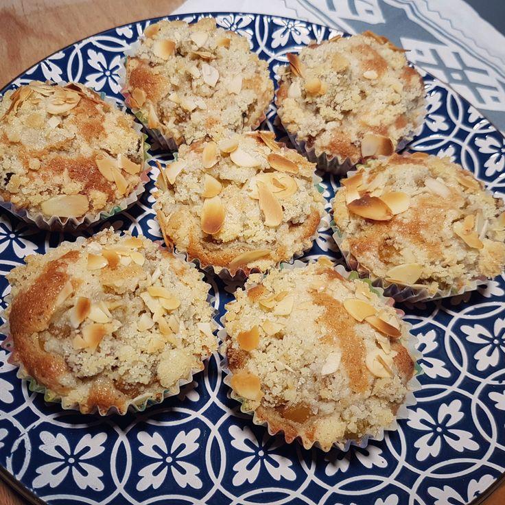 Recept på Änglarnas cupcakes (muffins med rabarber)
