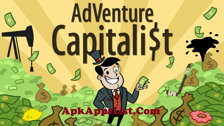 AdVenture Capitalist Hacked Apk v1.0.2.934 Android Game