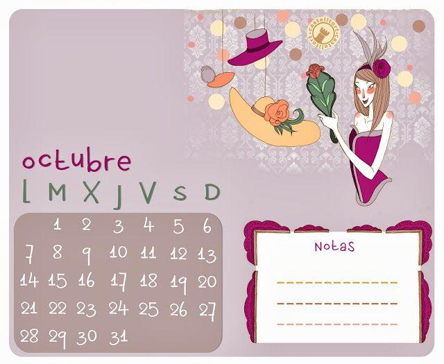El blog de Castelltort: Calendario Castelltort: Octubre