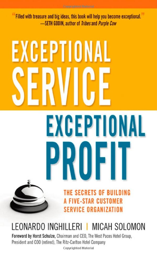 Really loved this book! Incorporating its teachings everyday in my job!: Worth Reading, Leonardo Inghilleri, Exceptional Profit, Service Organization, Books Worth, Five Star Customer, Micah Solomon, Customer Service