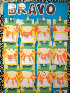 First Grade Fresh: The Bandit Y & St. Patricks Day Pictures...