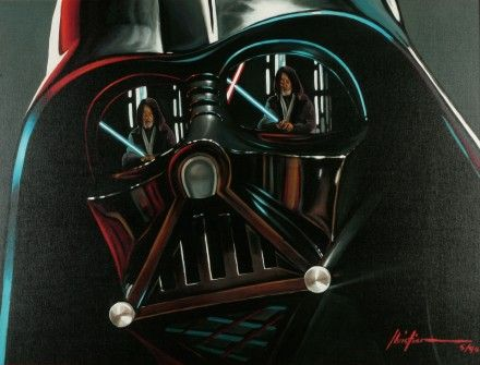 Christian Waggoner's Star Wars Paintings