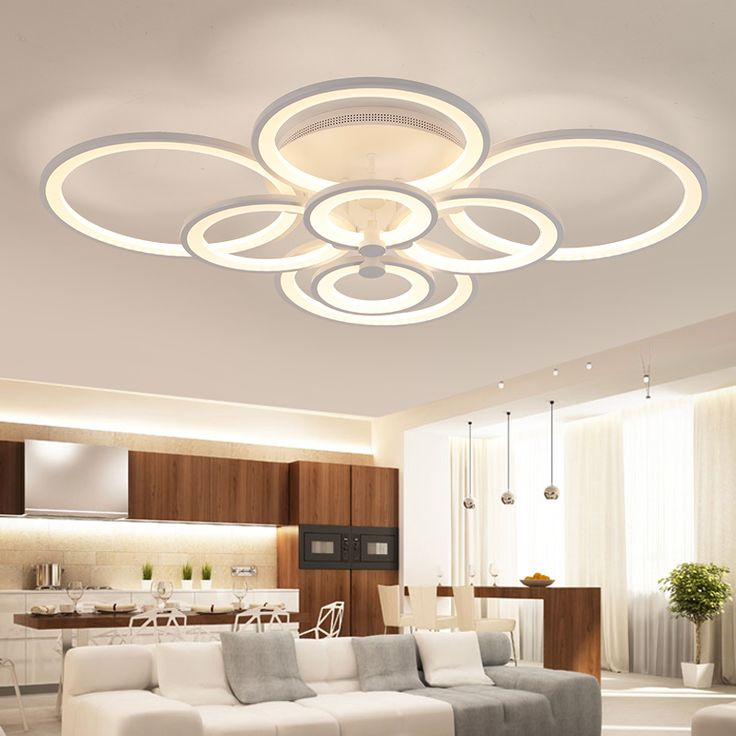 Remote Control Living Room, Bedroom Modern LED Ceiling Lights Luminarias  Para Sala Dimming LED Ceiling Part 50