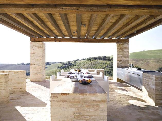 Somewhere I Would Like To Live Modern Italian Farmhouse