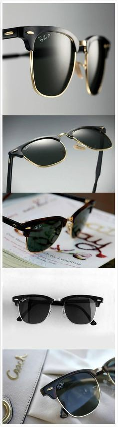The beautiful iconic Ray-Ban Clubmaster 3016. A real classic that never, ever seems to go out of style.