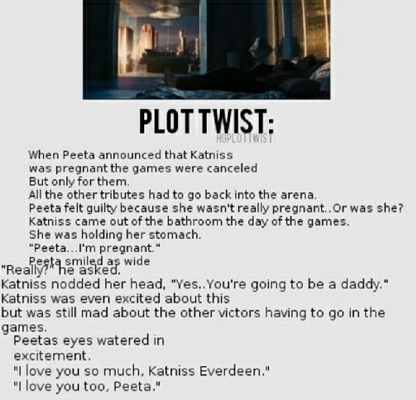 This is the only plot twist that makes me happy!