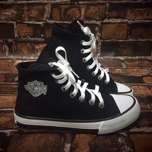 Harley-Davidson Shoes - Harley-Davidson® Black Flora Sneakers