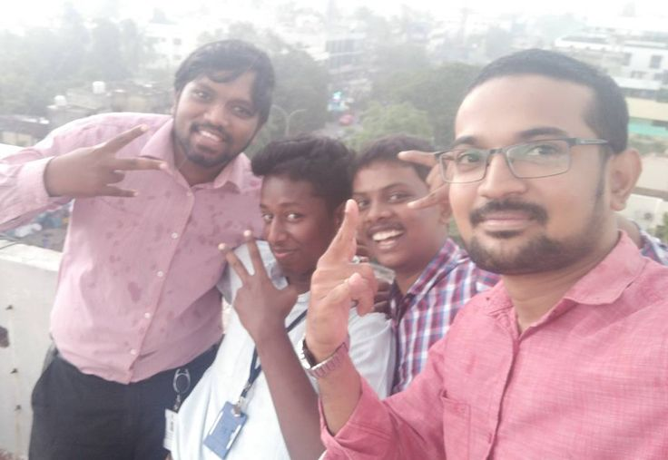 Rainy day!! #rain #office #colleague #friends #atjob #workplace #terrace #freetime #nature #best #climate #fun #weekday #weather