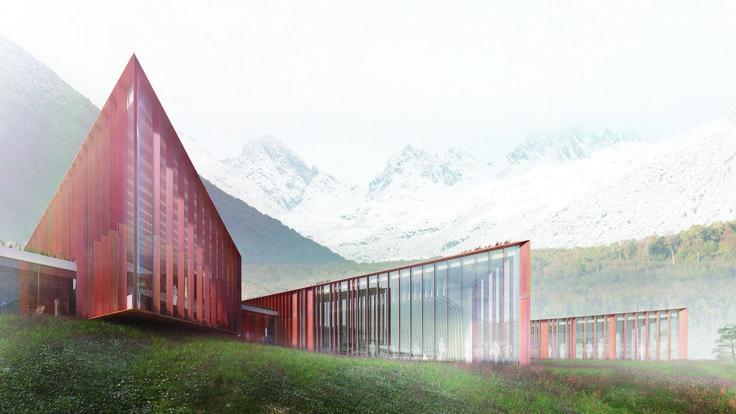 Presentan diseño del Centro Subantártico Cabo de Hornos, el espacio científico más austral de América