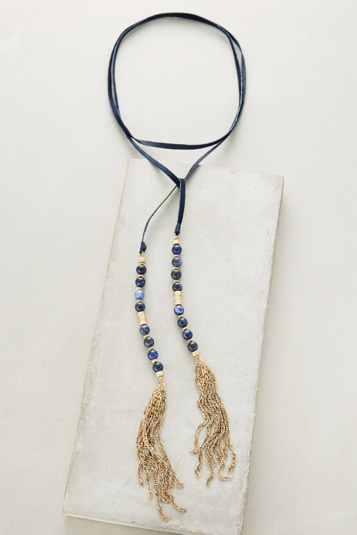 Shop the Beaded Suede Necklace and more Anthropologie at Anthropologie today. Read customer reviews, discover product details and more.