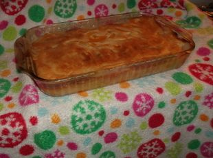 Justin Wilson Peach Cobbler. This is absolutely yummy!!  I've been making it for years.