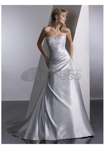 Abiti da Sposa in Pizzo-Luminoso bei vestiti da sposa a buon mercato