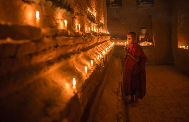 Monk and Candles