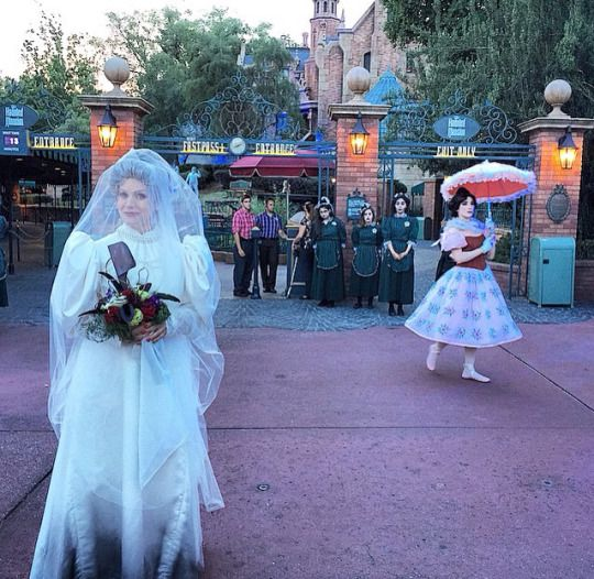 Haunted Mansion characters come to life at closed event