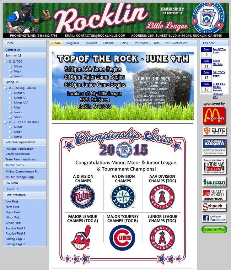 Rocklin Little League