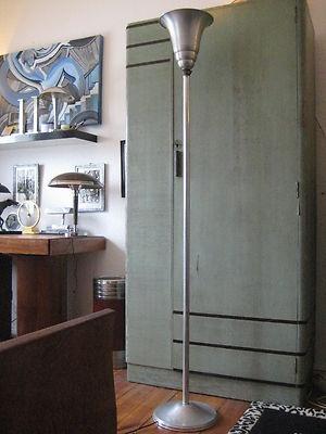 ART DECO BAUHAUS LAMPE STEHLAMPE DECKENFLUTER TISCH LEUCHTE LAMP 1930er JAHRE | eBay
