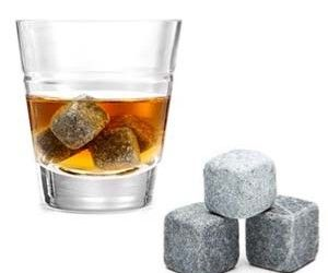These Ice Cube Rocks are an outstanding ice cubes that will rock your drinks up! They are made from Granite which harbours less bacteria and fewer impurities than ice.Includes a set of Chilling Rocks, and a Muslin Storage Pouch – Beautifully Boxed and a great Gift item! Genius!