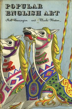 Clarke Hutton Illustration - Popular english Art, 1945
