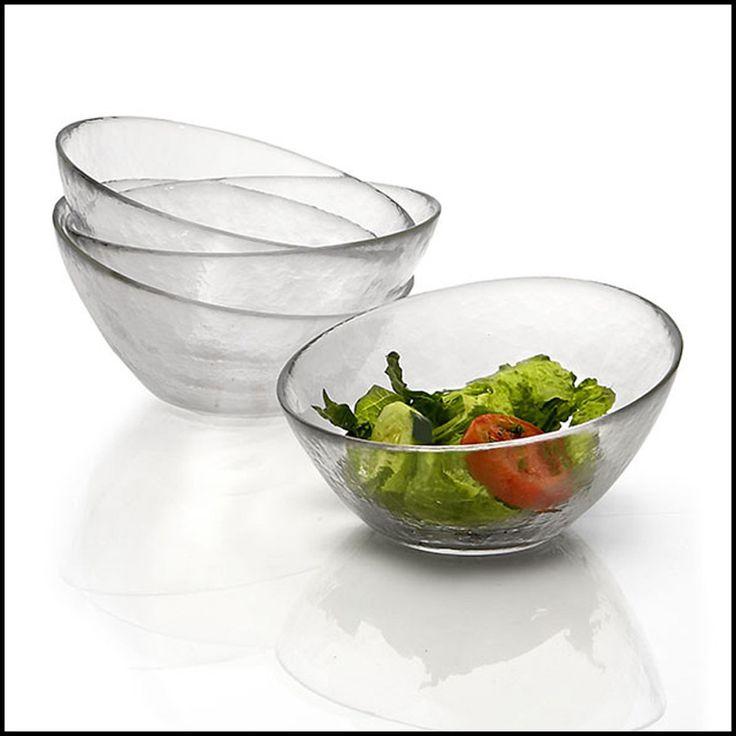 WoodardandCharles.com - Glass Angle Individual Salad Bowls, Set of 4, 7 1/4 Inch, $71.99 (http://www.woodardandcharles.com/glass-angle-individual-salad-bowls-set-of-4-7-1-4-inch/)