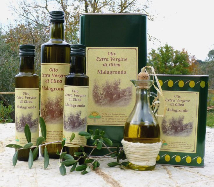 Our Extra Vergin Olive Oil.