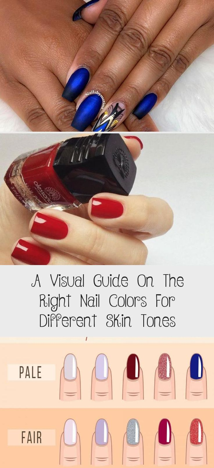 Best Nail Colors for Fair Skin Neon Purple A Visual Guide