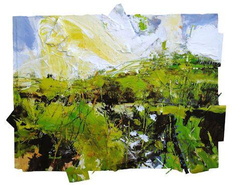 Green Hill (Wet Spring) David Tress
