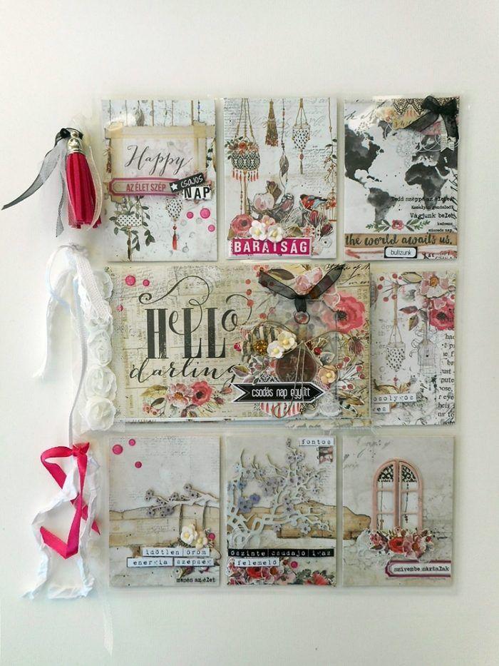 Pocket Letters ScrapBolt vendégalkotó #pocketletters #rossibelle #primamarketing #friends #girlyday